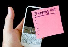 Lista zakupów to podstawa, jeśli chcemy zaoszczędzić na jedzeniu